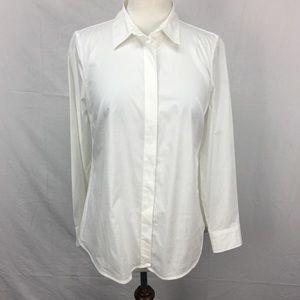 J.Crew White Favorite Button Down Shirt